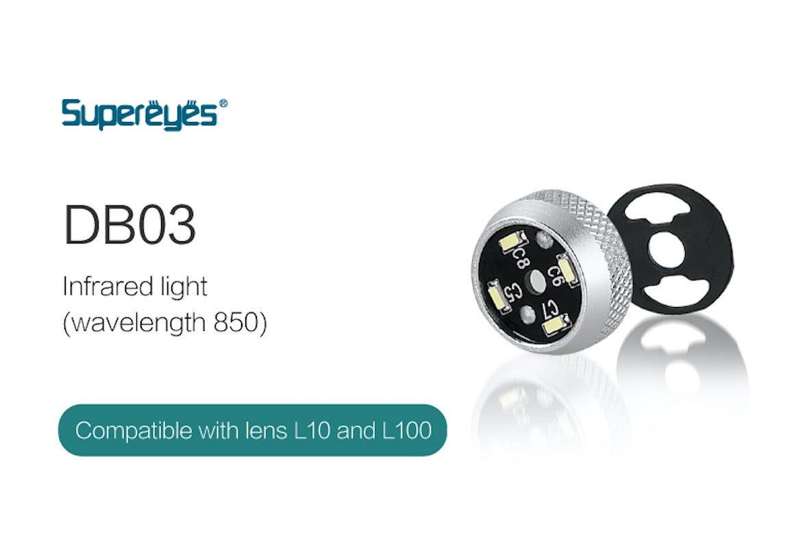supereyes DB03 IR light for microscope