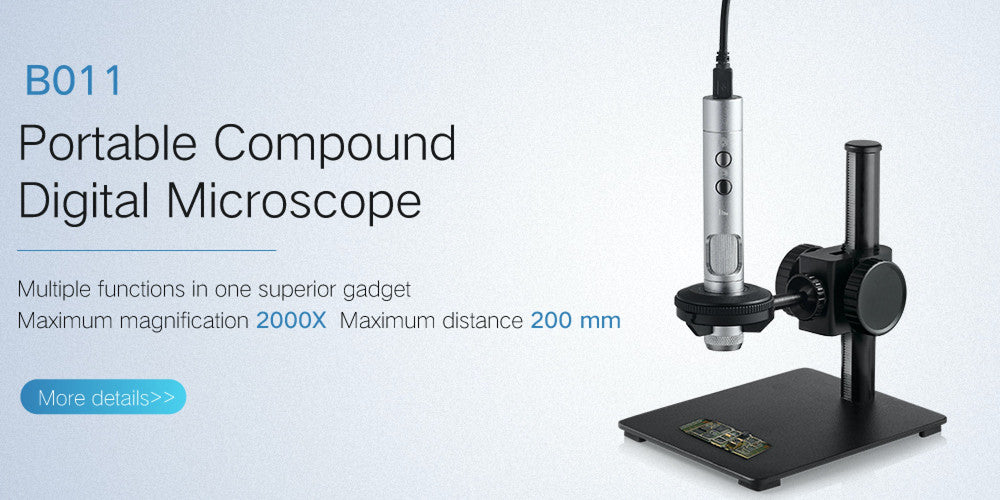 supereyes B011 interchangeable lens microscope
