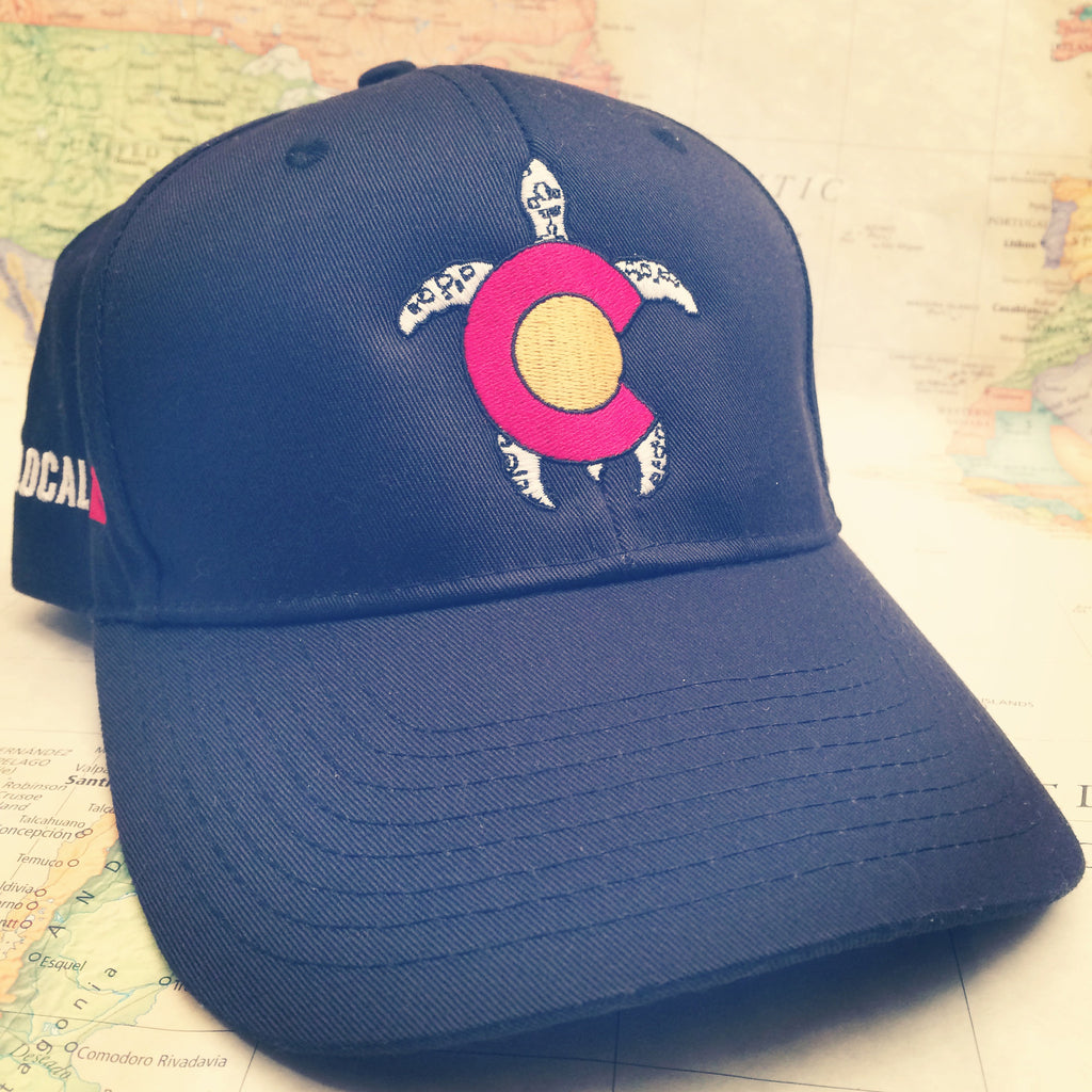 Colorado Turtle Baseball Hat - Colorado Ocean Coaltion