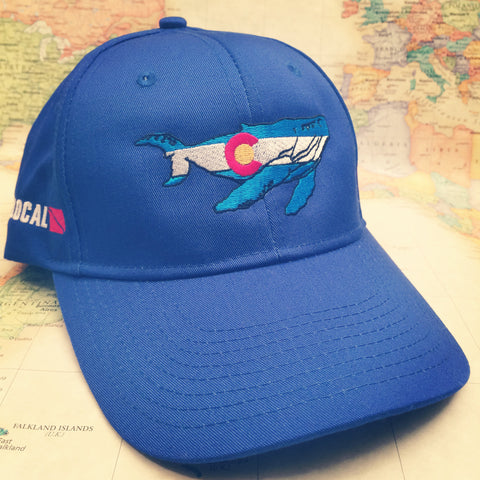 Colorado Whale Baseball Hat