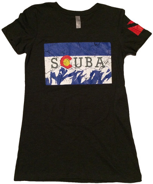 Ladies SCUBA T-Shirt