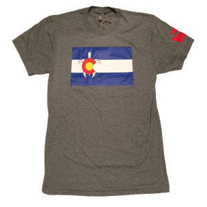 Men's Colorado Turtle T-Shirt - Colorado Ocean Coalition