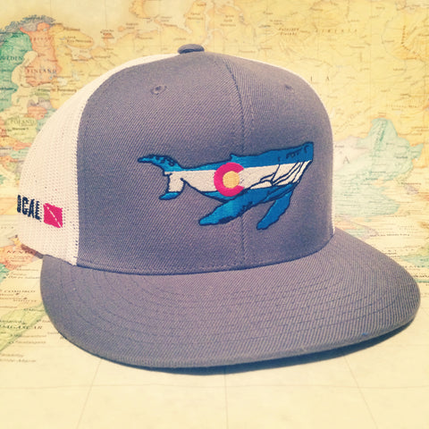 Colorado Whale Trucker Hat