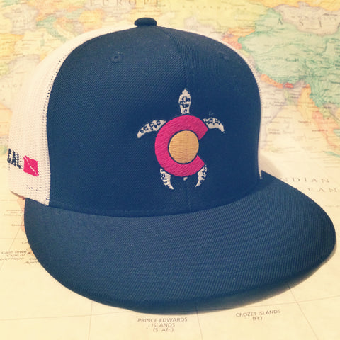 Colorado Turtle Trucker Hat