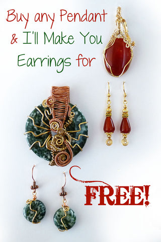 free jewelry with purchase ad black friday special free earrings with pendant great gifts women