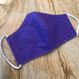 Purple Amador Valley High School Handmade Masks - School Colors!! Fabric 100% Cotton Facemasks - Washable, Reusable