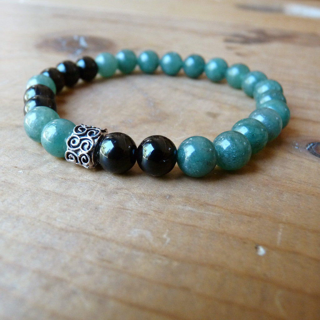 buddha bracelet genuine feshionn bead bracelets blue sale agate products on gemstone iobi jewellery