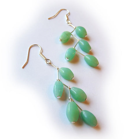 Tutorial - Dangle Branch Earrings - how to make earrings