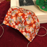 Handmade Cotton Fabric Face Mask - Pleasanton/Tri Valley Residents Only, Pick Up Only