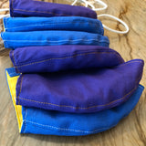 Amador Valley and Foothill High School Handmade Masks - School Colors!! Fabric 100% Cotton Facemasks - Washable, Reusable