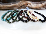 Handmade Beaded Gemstone Bracelets unisex jewelry