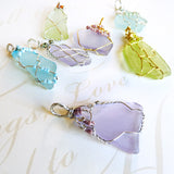 Handmade Gifts for women sea glass jewelry silver, gold