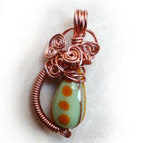 Antique Chinese Bead Pendant