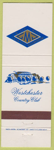 Matchbook Cover - Westchester Country Club Rye NY