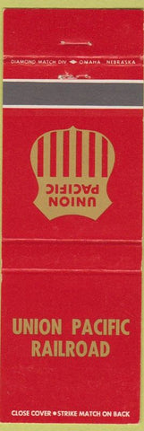 Matchbook Cover - Union Pacific Railroad