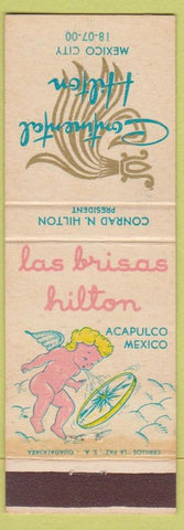 Matchbook Cover - Continental Hilton Mexico City