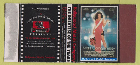 Matchbox Label - Miss Congeniality Movie Sandra Bullock girlie