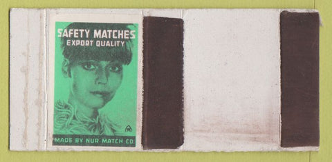 Matchbox Label - Nur Match Safety Matches girlie WEAR