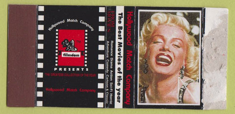 Matchbox Label - Marilyn Monroe Hollywood Match girlie WORN