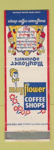 Matchbook Cover -  Coffee Shops Doughnuts WEAR