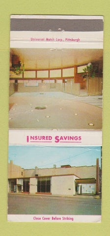 Matchbook Cover - Uniontown Savings and Loan PA 30 Strike