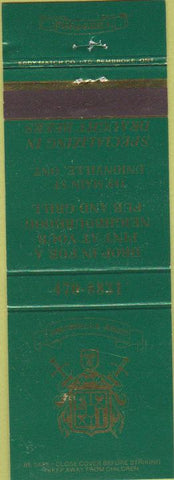 Matchbook Cover - Unionville Arms OH bar