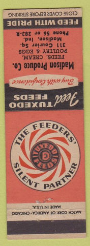 Matchbook Cover - Tuxedo Feeds Madison IN Produce