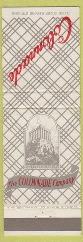 Matchbook Cover - Colonnade Co Cafeteria Cleveland OH