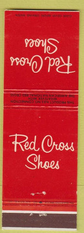 Matchbook Cover - Red Cross Shoes Bath NY