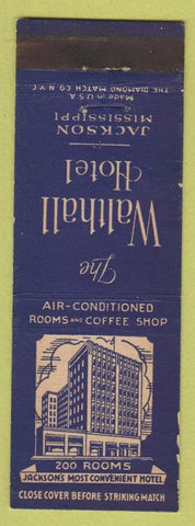 Matchbook Cover - Walthall Hotel Jackson MS