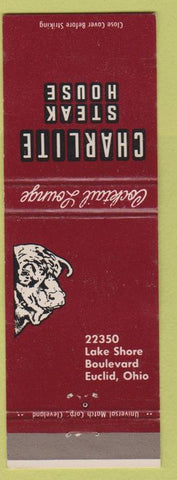 Matchbook Cover - Charlite Steak House Euclid OH