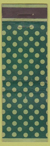 Matchbook Cover - Polka Dot Design Universal LONG