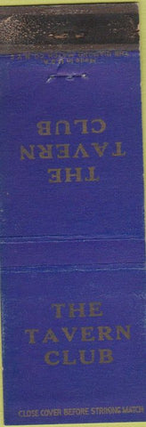 Matchbook Cover - The Tavern Club WEAR