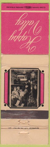 Matchbook Cover - Happy Valley San Francisco?