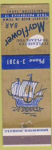 Matchbook Cover - Mayflower Bar Galveston TX