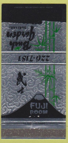 Matchbook Cover - Bush Garden Suikyaki Seattle WA Portland OR 30 Strike