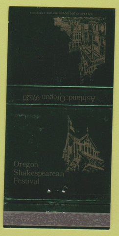 Matchbook Cover - Oregon Shakespearean Festival Ashland OR 30 Strike