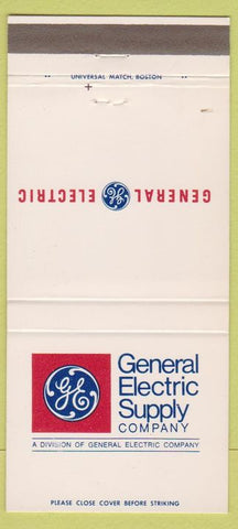 Matchbook Cover - General Electric Supply Co GE 30 Strike