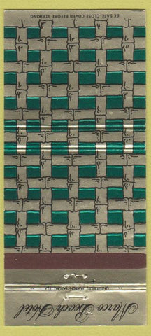 Matchbook Cover - Marco Beach Hotel Marco Island FL 30 Strike