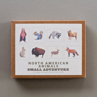 North American Animals Cards