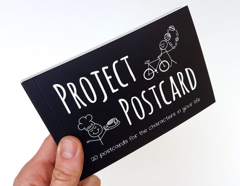 Project Postcard Booklet Cover