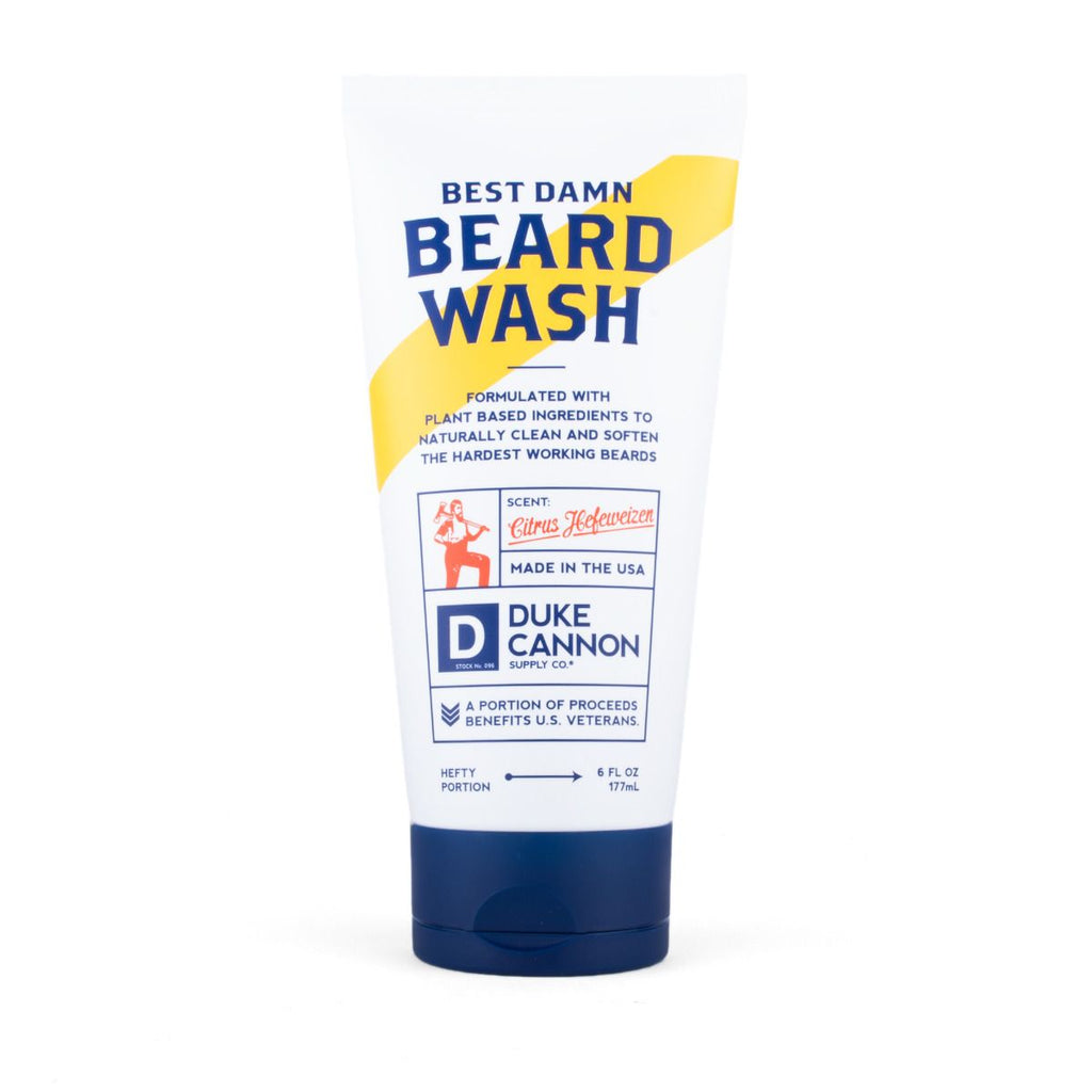 Duke Cannon Supply Co Best Damn Beard Wash