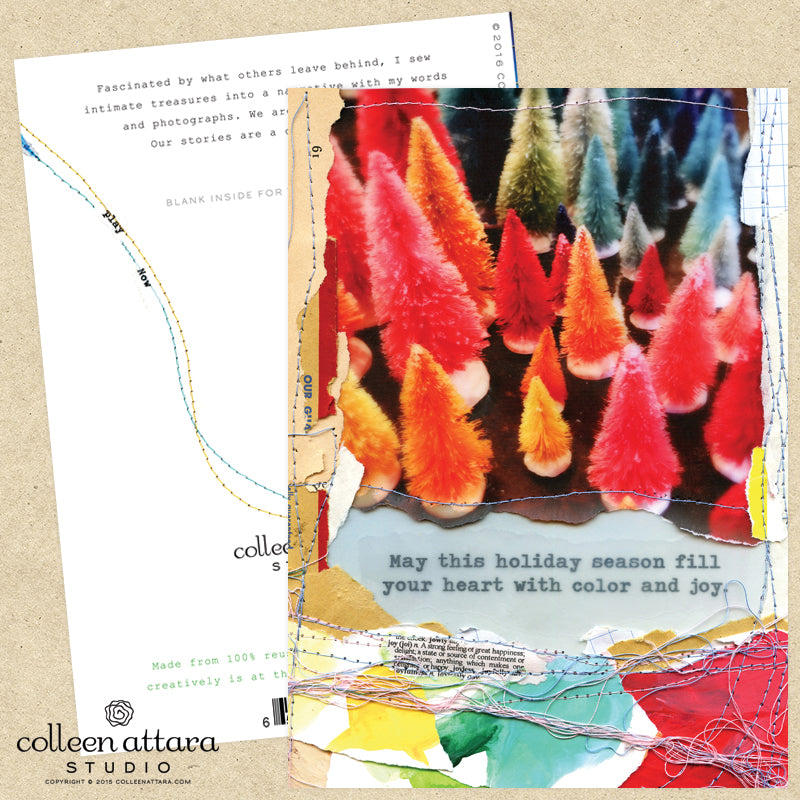 Color and Joy Holiday Card