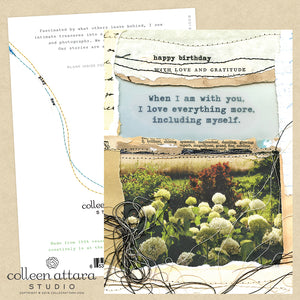 With You Birthday Card