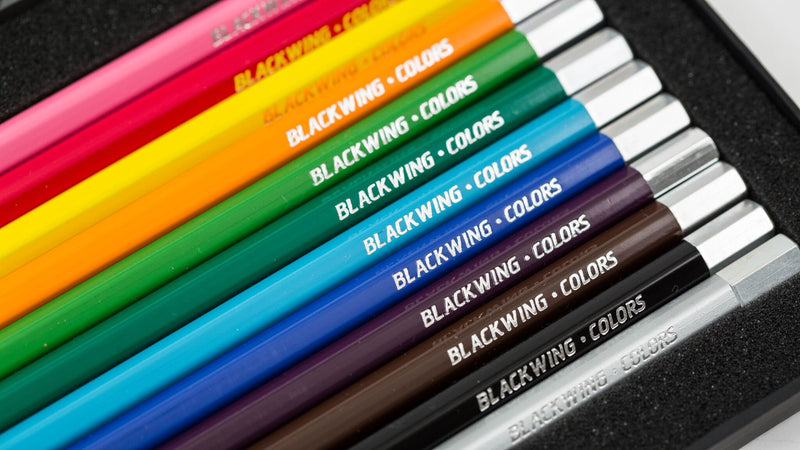 Set of 12 Blackwing Colors Pencils