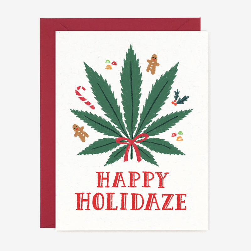 Happy Holidaze Pot Card