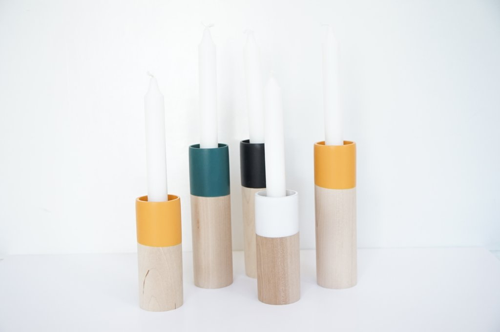 Cylinder Candle Holder :: Willful Goods