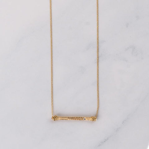 Basics Collection Bar Necklace :: Niyol Jewelry