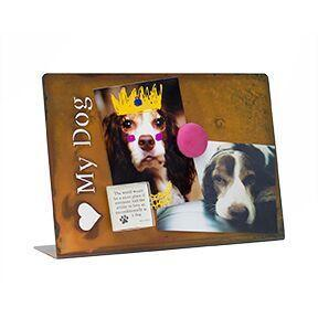 <3 My Dog Magnetic Picture Frame