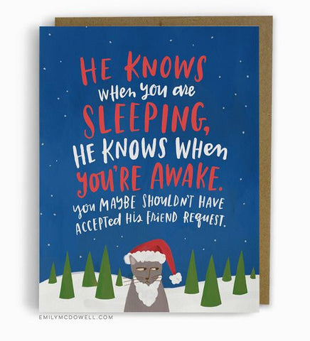 Holiday Cards :: Emily McDowell